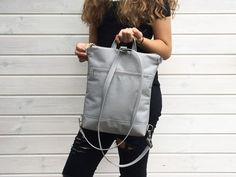 Shop for functional minimalist bags. Backpack Straps, Leather Backpack, Leather Bag, Unique Backpacks, Small Backpack, Mini Backpack, Travel Backpack, Minimalist Bag, Waterproof Backpack