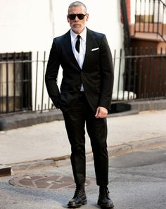 nick wooster tuxedo - Google Search