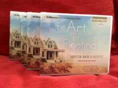 The audio version of THE ART OF FLOATING arrived! Cool!