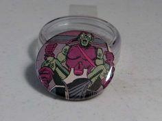 """Comic Book 1.5"""" Button// Green Goblin, $1.00"""