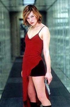 Version has Resident evil movie girl