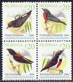 Philippines Stamps Birds