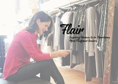 Custom website design/logo design/branding/photography See the site here http://www.flairconfidence.com Learn all about what I do and how I can make your business beautiful here http://www.happygirldesign.com