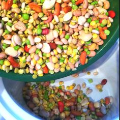 The beginnings of 15-Bean soup. Later it will see sautéd shrimp and Cajun seasonings.
