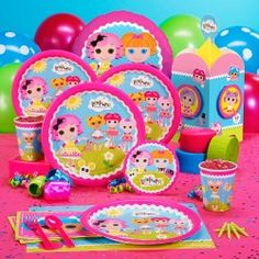 Lalaloopsy party pack - what a cute idea!