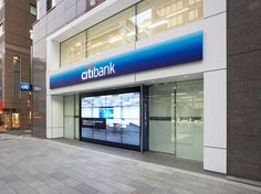 Retail Bank Environment Citibank Retail Banking Branch - Nihonbashi