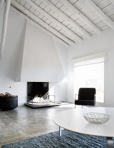 gorgeous fireplace / La Mancha, Spanje