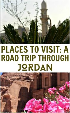 Places to visit in Jordan. Jordan is peaceful, hospitable and oh-so friendly and there are many great places to travel to on a road trip. The famous Arab hospitality is in abundance here and your heart will burst at every warm welcome you receive, you'll feel right at home. Have some tea when it's offered, and soak up the atmosphere of everyday life. You won't regret it.
