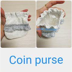 Coin purs made of scrap bits Lace Shorts, Coin Purse, Scrap, Purses, Pattern, Crafts, Design, Women, Fashion
