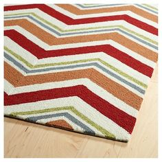 Red Spanish Tile Rugs Borrowing From Traditional
