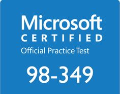 Microsoft has made different exams that are designed to check the knowledge of the IT professionals. The exam 98-349 covers the essentials of the windows operating systems.  for information click here.