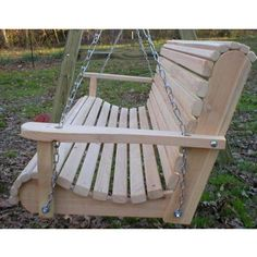 Ted's Porch Swings Rollback I Front Porch Swing Cheap