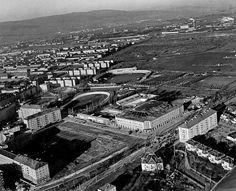 Zimný štadión 1958 Bratislava, Old Photos, Airplane View, Paris Skyline, City Photo, Nostalgia, Times, Photography, Travel