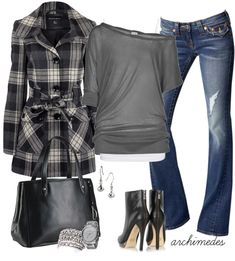 """""""Cloudy Autumn Morning"""" by archimedes16 on Polyvore"""