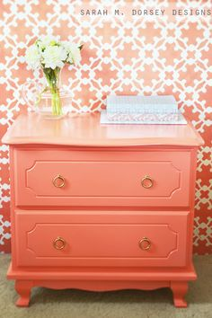 sarah m. dorsey designs: Color me Coral