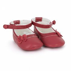 Mayoral Babies Red Bow Shoes | AlexandAlexa