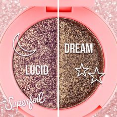 """Lime Crime - """"Lucid""""  (mauve/gold shift) + """"Dream"""" (golden brown) What can we say, this duo is what dreams are made of! Whimsical and alluring, we dare you not to fall in love!"""