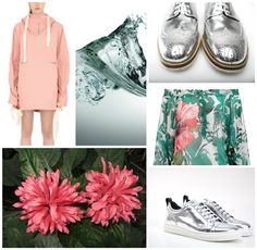 #ladis #shoes #classy #streetstyle #moodboard #trend #madeinitaly #glamour #åccessories #sneakers #golden #silver #white #blackandwhite #red #allwhite #look #outfit #ss16 #ROMANTIC #SPORTY