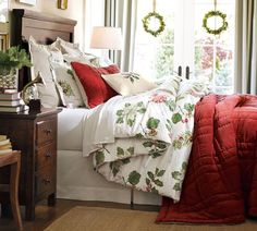Rudolph the Red-Nosed Reindeer® Flannel Sheet Set | Pottery Barn ...