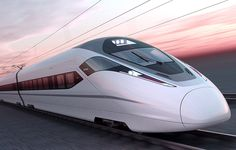 The fastest express train in the world launched in China ... It may not be Art Deco but it has an Art Deco Attitude!