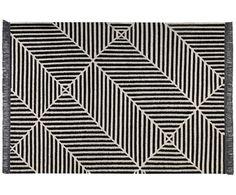 Badezimmerteppich weiß ~ Handbedruckter teppich block house doctor modern and interiors