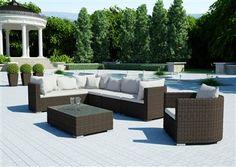 cz - doména z aukce Outdoor Sectional, Sectional Sofa, Outdoor Furniture Sets, Outdoor Decor, Terrace, Praha, Home Decor, Balcony, Modular Couch