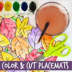 Color and Cut Placemats