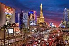 Las Vegas, Las Vegas Strip, Las Vegas sunset, HDR