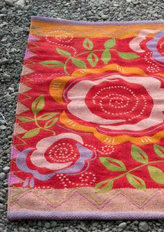 """""""Ros"""" cotton rug – Rugs – GUDRUN SJÖDÉN – Webshop, mail order and boutiques 