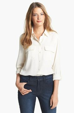 Nexx Silk Blouse available at #Nordstrom