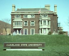 Cleveland State University, Mather Mansion, 1976 - http://www.clevelandmemory.org/