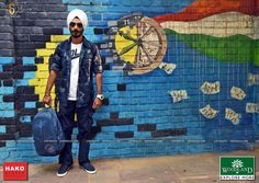 The attribute of being Turbanista comprises 4 virtues: Styled, Scrupulous, Spiritual & Scientific  Model: Gaganmeet Singh #SikhVogue #fashion #magazine #StreetStyle #photography #Woodland #hako #style #trend #turban #model #vogue #class
