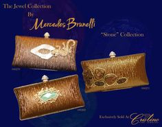 Embrace Your inner Jewel with an evening clutch by Mercedes Brunelli designed especially for Cristino Fine Jewelry. This Collection is unique and elegant and is the perfect addition to every women's wardrobe. Evening Clutches, Every Woman, Fine Jewelry, Jewels, Wallet, Elegant, Unique, Collection, Women