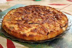 recette Gâteau pommes rhubarbe orange