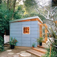 Articles about studio shed easy backyard storage solution. Dwell is a platform for anyone to write about design and architecture. Shed Office, Backyard Office, Backyard Studio, Garden Studio, Backyard Cabin, Modern Backyard, Garden Office, Modern Shed, Modern Garage
