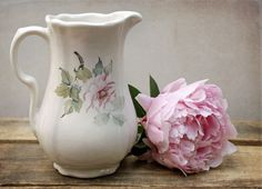 ironstone pitcher by Grace & Ivy, via Flickr