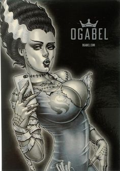 Art by OG Abel 'chicano Fantasy Kunst, Dark Fantasy Art, Fantasy Girl, Dark Art, Zombie Kunst, Zombie Art, Cartoon Kunst, Cartoon Art, Og Abel Art