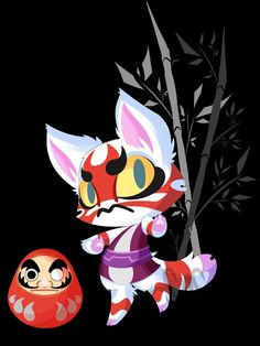 Kabuki Animal Crossing Fan Art, Ac New Leaf, High Noon, Furry Drawing, Warm Fuzzies, Animal Games, Like Animals, Nintendo Games, Beautiful Artwork