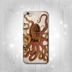 Vintage Octopus iPhone 6S 6 Plus 6 5 5S 5C 4 4S Htc by Lantadesign