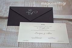 ΠΡΟΣΚΛΗΤΗΡΙΑ ΓΑΜΟΥ Wedding Invitations, Weddings, Wedding, Wedding Invitation Cards, Marriage, Wedding Invitation, Wedding Announcements, Wedding Invitation Design