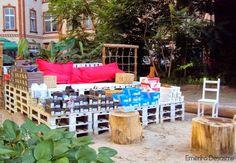 Emérita Desastre: Reciclaje: Empresas con Palets