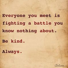 Small acts of kindness can make a world of difference. MT @umairh If you want to help fight depression, be kind. pic.twitter.com/TtoaY0YKCh