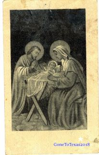 Holy Pictures: Franciscan Christmas Call 1959