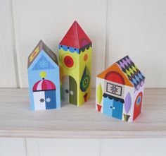 Paper craft kit from Etsy
