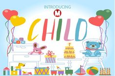 CHILD by Magic Hands on @creativemarket