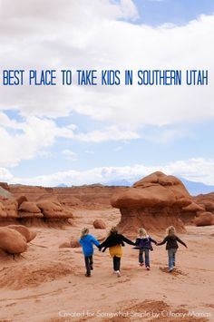 goblin valley: Best Place for kids in Southern Utah