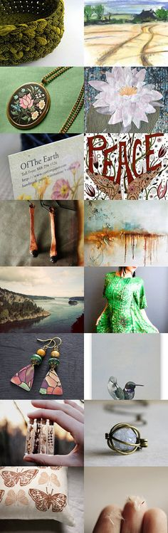 World Earth Day by 3buu on Etsy--Pinned+with+TreasuryPin.com