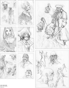 Axis Mundi (art-book consacré à Mathieu Lauffray) (2/2)