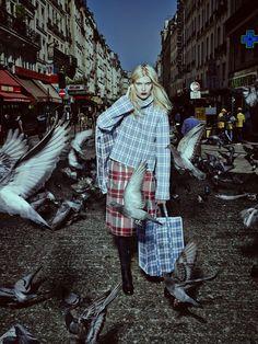 Yulia Terentieva by Alexey Kolpakov for Harper's Bazaar Russia October 2013 7