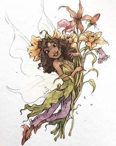 Grace (@lavera.grace) • Instagram photos and videos Disney Fairies, Tinkerbell, Pixie Hollow, Watercolor Art, Fairy Tales, Original Paintings, Illustration Art, Lily, Etsy Shop